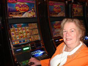Judy Feeding the Slots